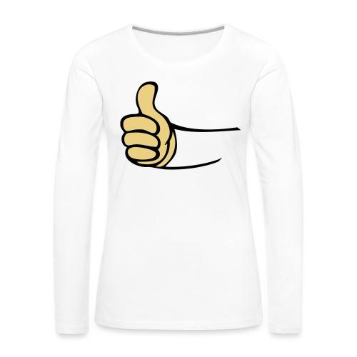 Vault - Vrouwen Premium shirt met lange mouwen