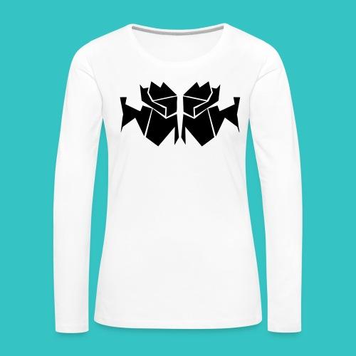 TrogArtZ Shirt - Frauen Premium Langarmshirt
