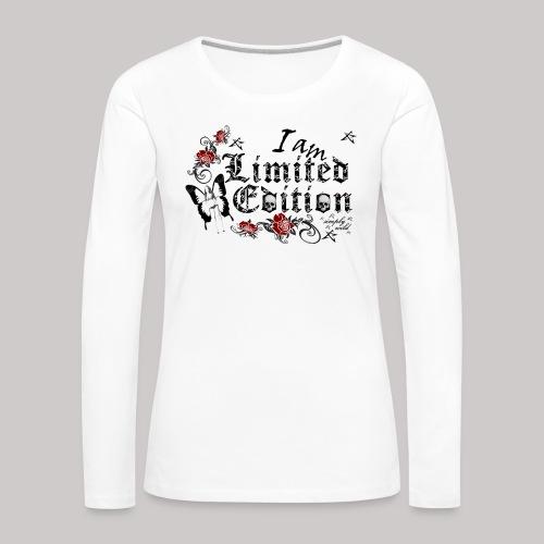 simply wild limited Edition on white - Frauen Premium Langarmshirt