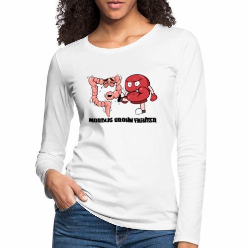 Morbus Crohn Kämpfer - Frauen Premium Langarmshirt