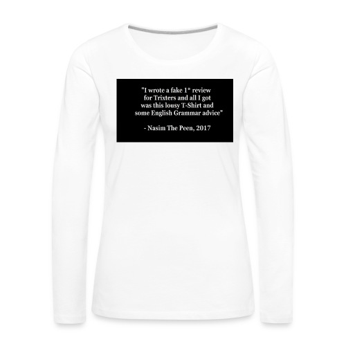 NasimPeen - Women's Premium Longsleeve Shirt