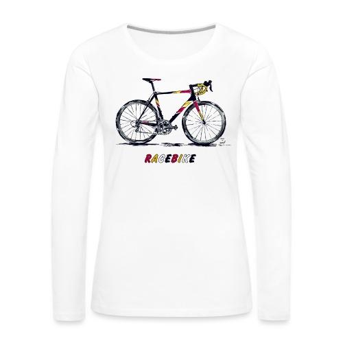 RACEBIKE - Frauen Premium Langarmshirt