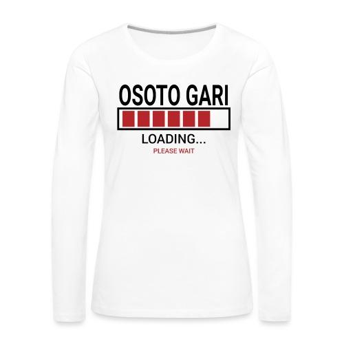 O Soto Gari Loading.... Pleas Wait - Koszulka damska Premium z długim rękawem