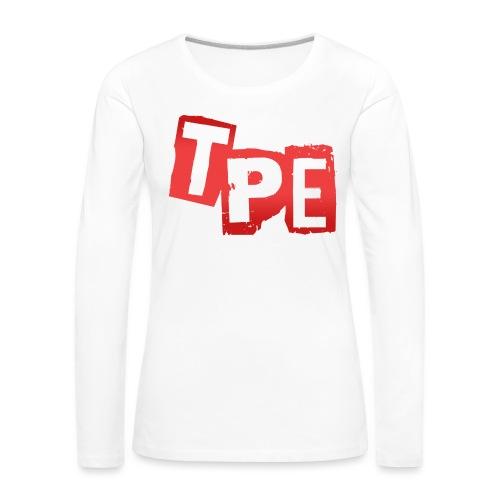 TPE T-Shirt Dam - Långärmad premium-T-shirt dam
