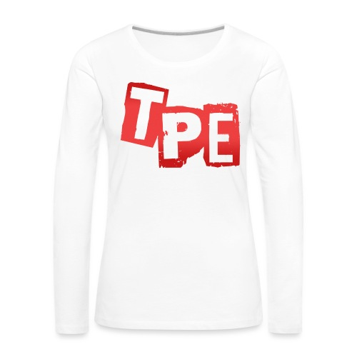 TPE iPhone6/6s skal - Långärmad premium-T-shirt dam