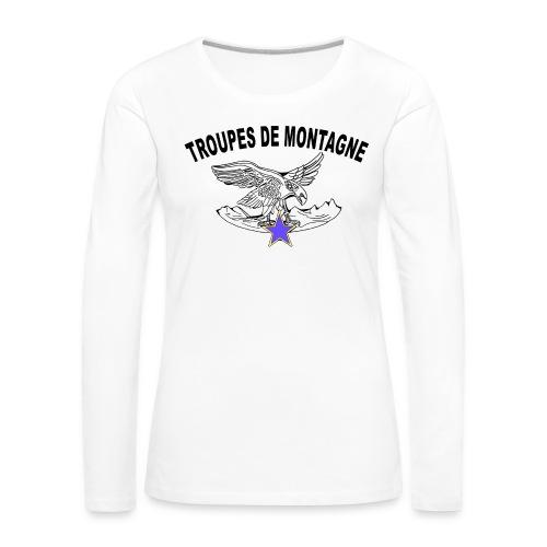 choucasTDM dos - T-shirt manches longues Premium Femme