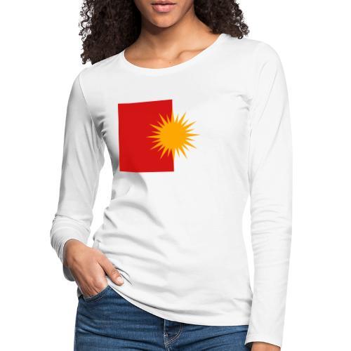 Yeziden T-Shirt Ezidi,Shingal,Şingal - Frauen Premium Langarmshirt