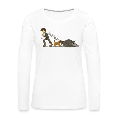 Hundeführer - Frauen Premium Langarmshirt