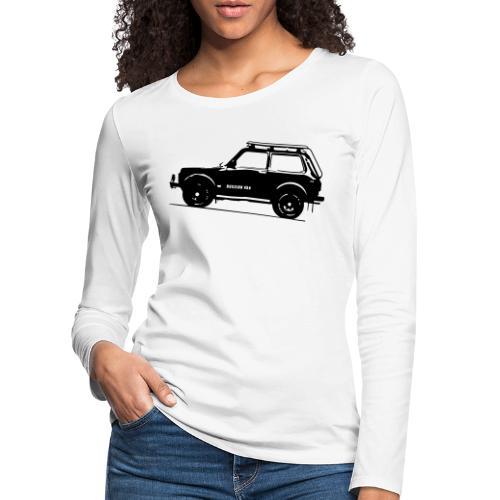 Lada Niva 2121 Russin 4x4 - Frauen Premium Langarmshirt