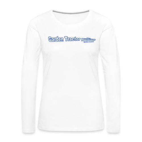 Børne Garden Tractor pulling - Dame premium T-shirt med lange ærmer