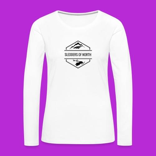 Water bottle - Women's Premium Longsleeve Shirt