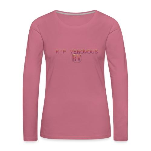 Rip Venomous White T-Shirt men - Vrouwen Premium shirt met lange mouwen