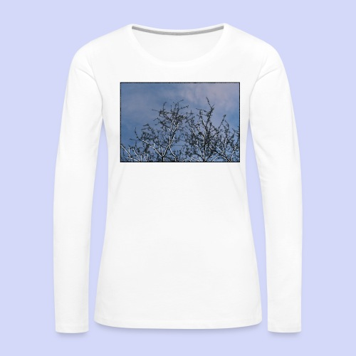 Summer times - Male shirt - Dame premium T-shirt med lange ærmer