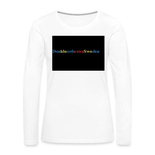 DualdnoobextraSwedens Mugg - Långärmad premium-T-shirt dam