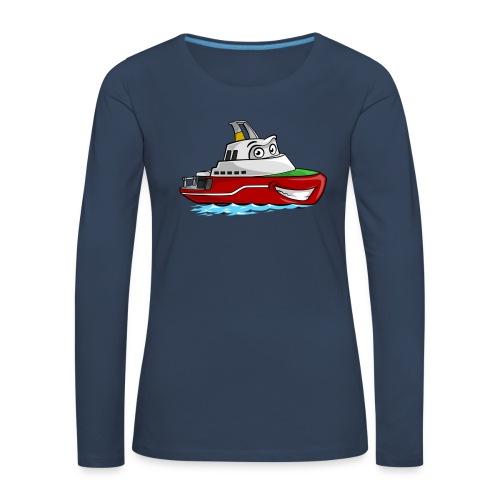 Boaty McBoatface - Women's Premium Longsleeve Shirt