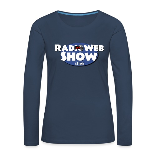 Logo RadioWebShow - Maglietta Premium a manica lunga da donna