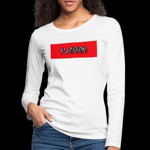 PATSER deluxe - Vrouwen Premium shirt met lange mouwen