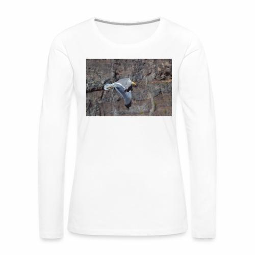 Möwe - Frauen Premium Langarmshirt