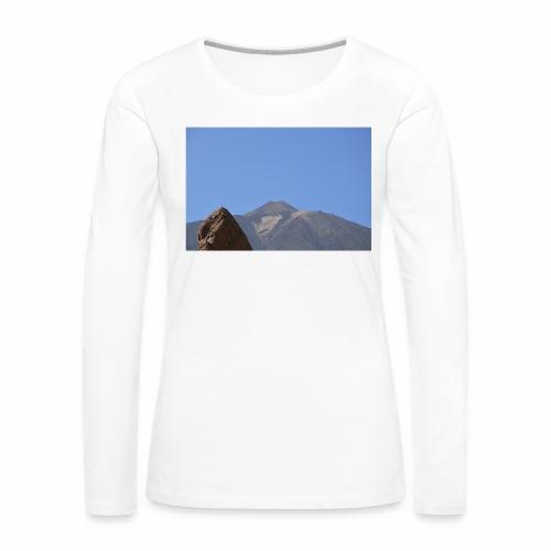 Teide - Teneriffa - Frauen Premium Langarmshirt