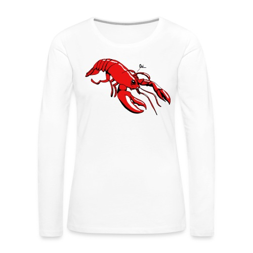 Lobster - Women's Premium Longsleeve Shirt