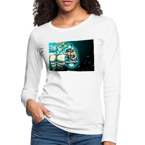 8251831F EA3A 4726 A475 A5510CDECB5A - Långärmad premium-T-shirt dam