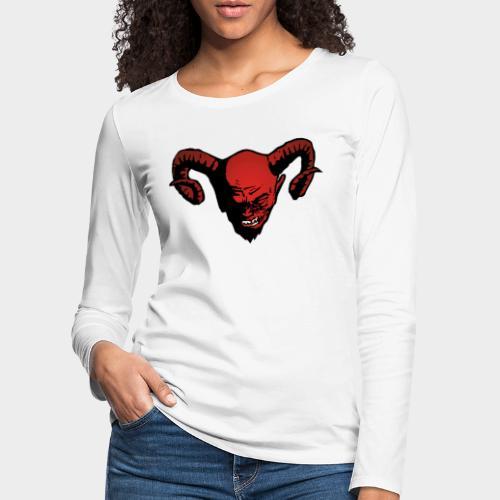 DEMONIO ROJO - Camiseta de manga larga premium mujer