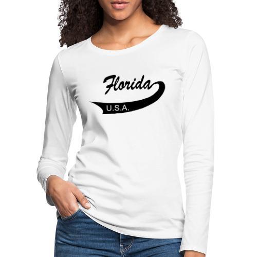 Florida USA - Frauen Premium Langarmshirt