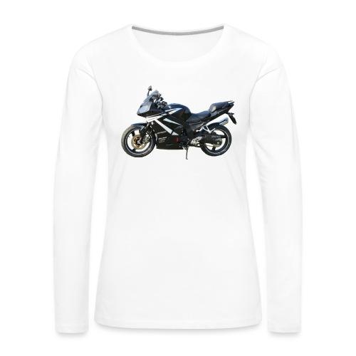 snm daelim roadwin r side png - Frauen Premium Langarmshirt