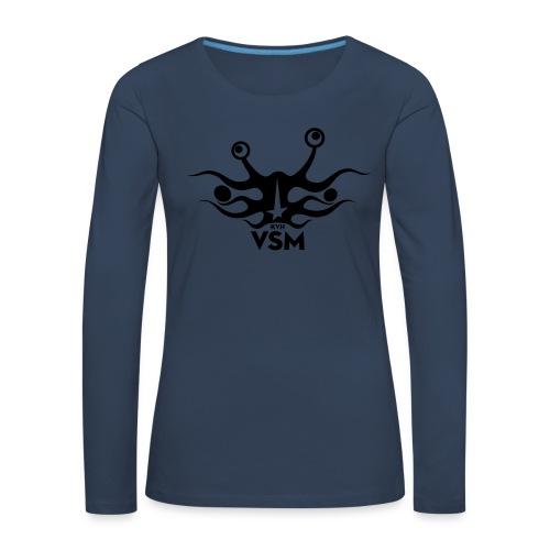 Kerk van het Vliegend Spaghettimonster - Vrouwen Premium shirt met lange mouwen