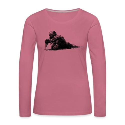 Splatter Zombie - Maglietta Premium a manica lunga da donna