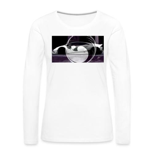 lion black lyon design - Women's Premium Longsleeve Shirt
