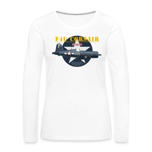 F4U Jeter VBF-83 - Women's Premium Longsleeve Shirt