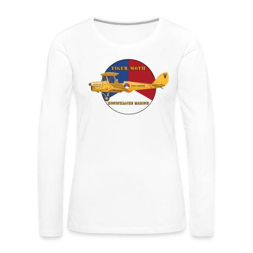 Tiger Moth Kon Marine - Women's Premium Longsleeve Shirt
