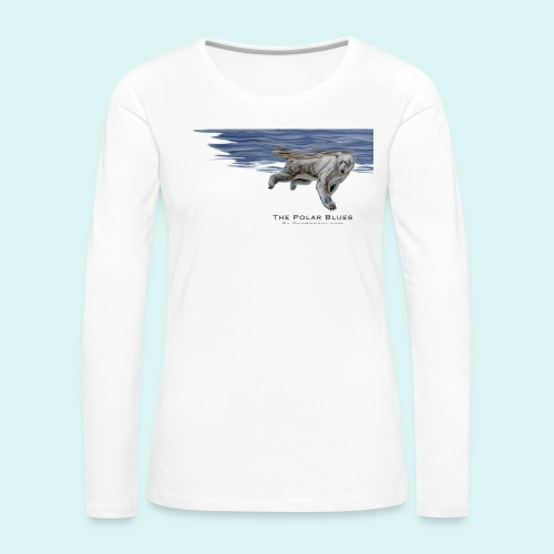 Polar-Blues-SpSh - Women's Premium Longsleeve Shirt