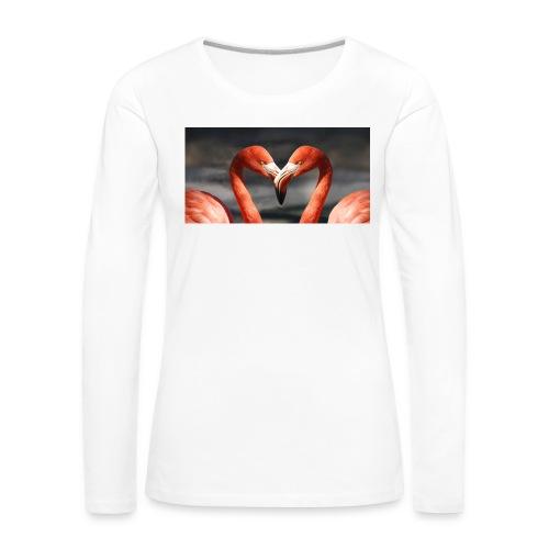 flamingo - Frauen Premium Langarmshirt