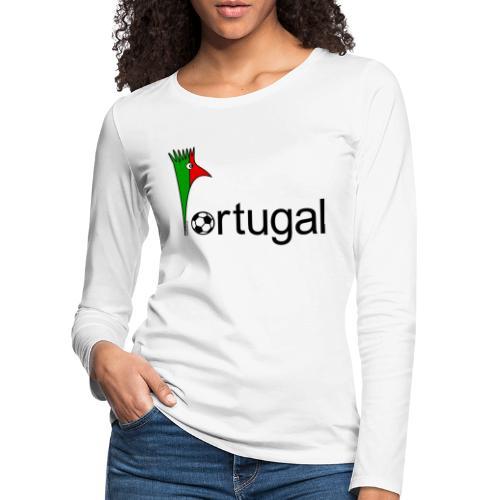 Galoloco Portugal 1 - T-shirt manches longues Premium Femme