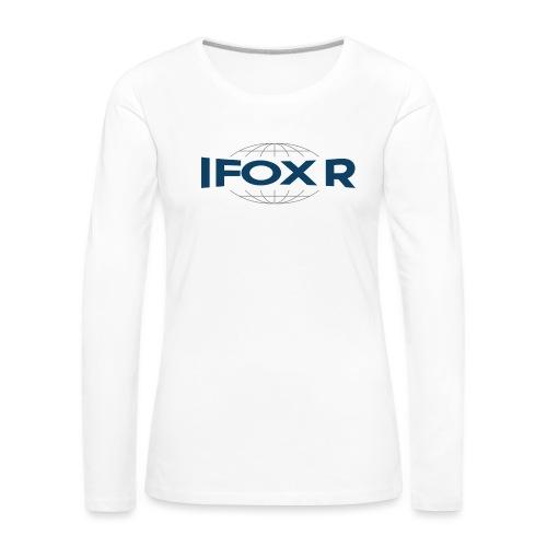 IFOX Logo - Långärmad premium-T-shirt dam