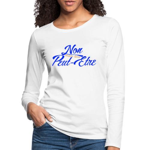 BELGIAN-NONPEUTETRE - T-shirt manches longues Premium Femme