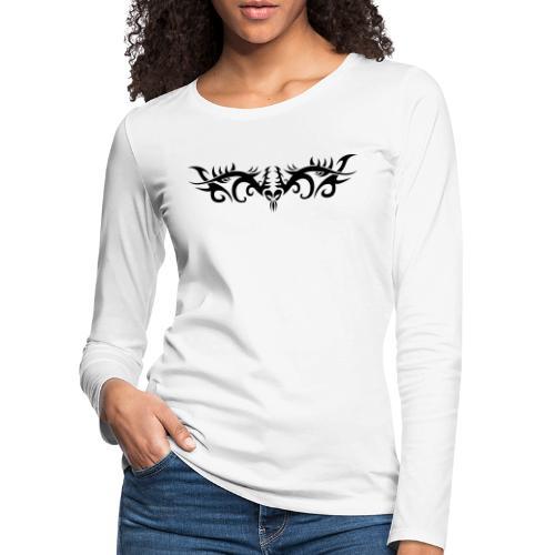 Motif Tribal 4 - T-shirt manches longues Premium Femme