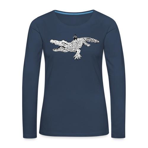 JUANCHO RIDES AGAIN MASTER - Women's Premium Longsleeve Shirt
