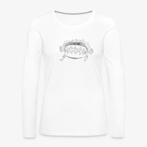 chicxulub nrv - T-shirt manches longues Premium Femme