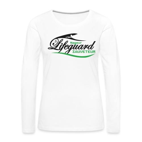 lifeguard NS - T-shirt manches longues Premium Femme