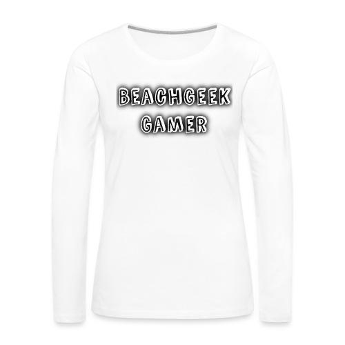 Classic BeachGeek - Women's Premium Longsleeve Shirt