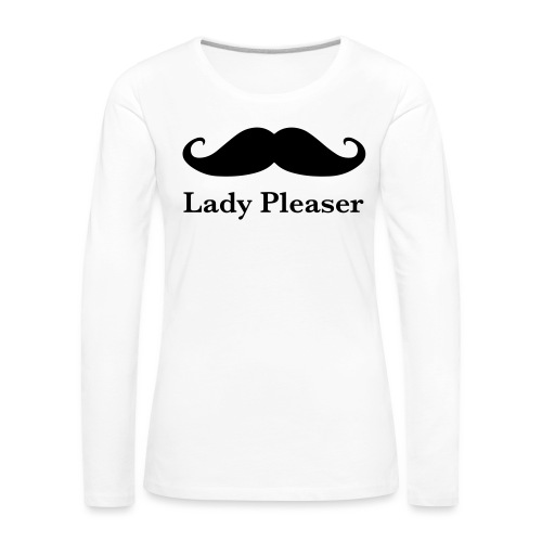 Lady Pleaser T-Shirt in Green - Women's Premium Longsleeve Shirt