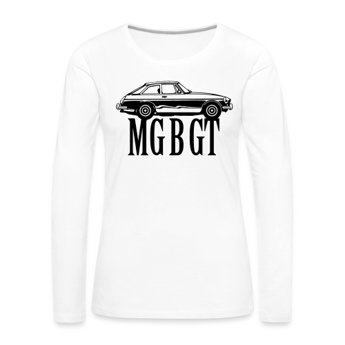 MG MGB GT - Autonaut.com - Women's Premium Longsleeve Shirt