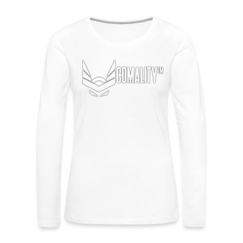 AWESOMECAP   Comality - Vrouwen Premium shirt met lange mouwen
