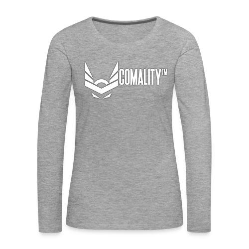 PILLOW   Comality - Vrouwen Premium shirt met lange mouwen