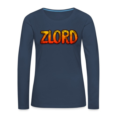 YouTuber: zLord - Maglietta Premium a manica lunga da donna