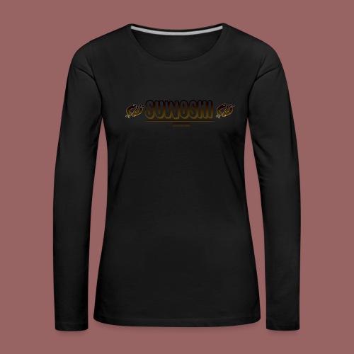 Suwoshi Streetwear - Vrouwen Premium shirt met lange mouwen