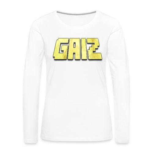POw3r-gaiz maglia - Maglietta Premium a manica lunga da donna